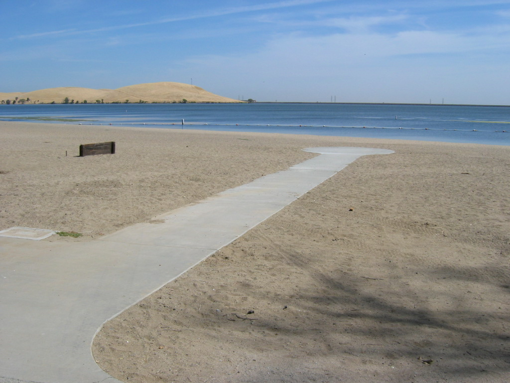 San Luis Reservoir SRA - Beach Access Route, Photo: California State Parks
